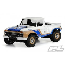 1966 Ford F-100 Clear Body (Sin Pintar) para Slash 2wd, Slash 4x4 y SC10