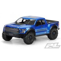 2017 Ford F-150 Raptor True Scale Clear Body (Sin Pintar) para Slash 2wd, Slash 4x4 y SC10