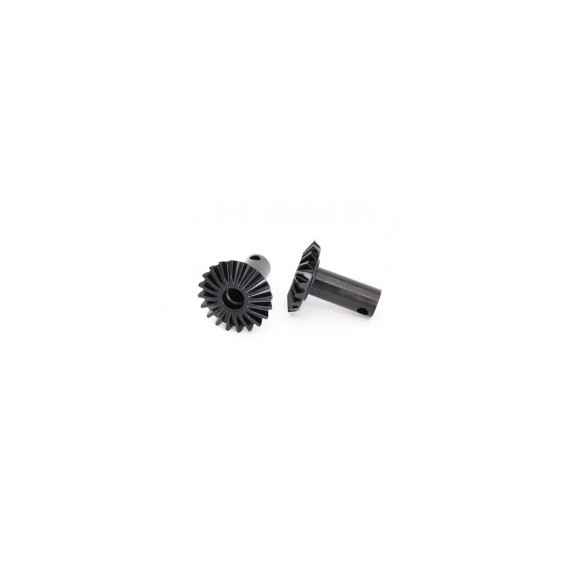 Output gears, differential, hardened steel (2)