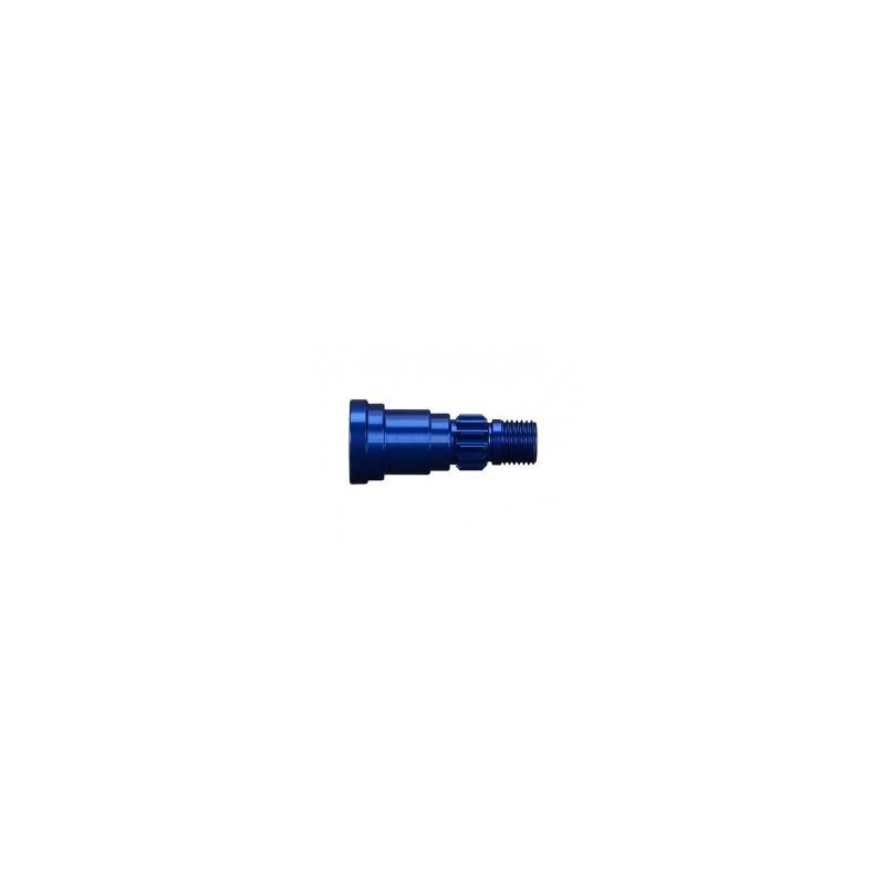 Eje de aluminio (anodizado en azul) (1) (usar solo con TRX7750)