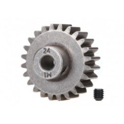 Gear, 24-T pinion (1.0 metric pitch) (fits 5mm shaft)