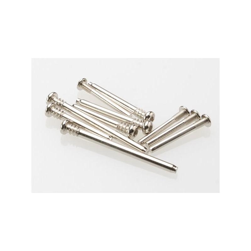 Juego de pasadores de tornillo de suspensión, acero (accionamiento hexagonal) (requiere parte TRX2640)