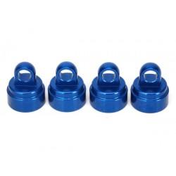 Tapones de Amortiguador de aluminio (anodizado azul) (4)