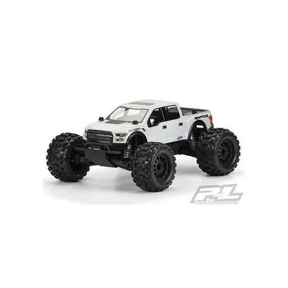 True Scale Ford F-150 Raptor SVT Clear Body
