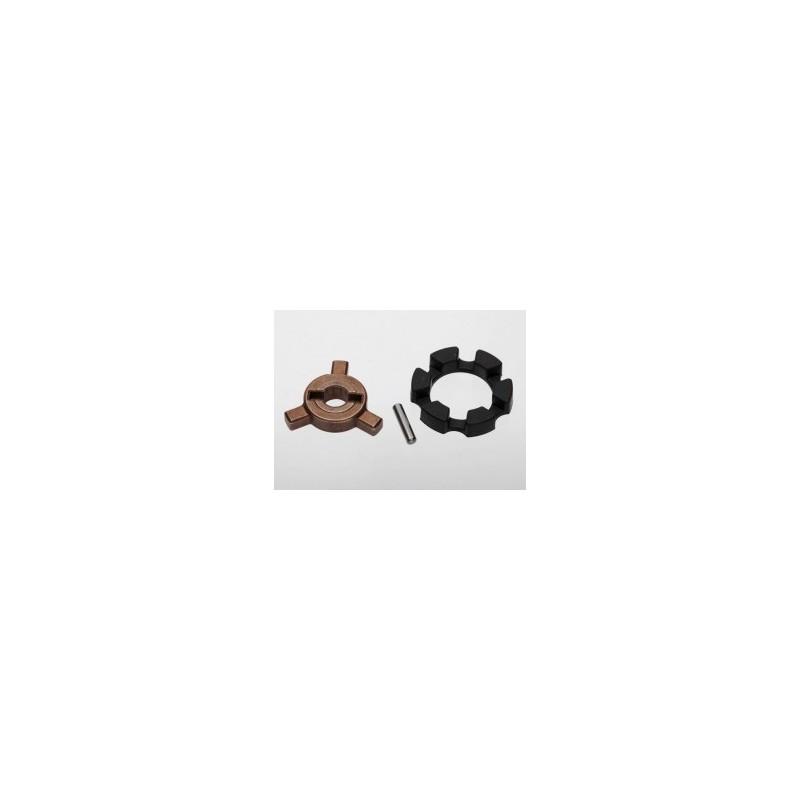 Llave de accionamiento / pin / amortiguador de elastómero
