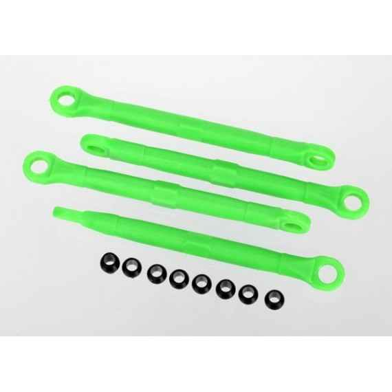 Toe link front & rear green (molded composite) (green) (4)