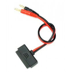Charger Cable Traxxas ID 2S Banana 4mm to Traxxas ID