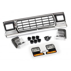 Parrilla, Ford Bronco / retenedores de parrilla (3) / carcasa del faro (2) / lente (2)
