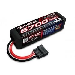 Power Cell LiPo 6700mAh 14.8V 4S 25C , ID