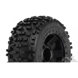 """Badlands 3.8"""" (Traxxas Style Bead) All Terrain Tires Mounted (2pcs)"""