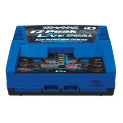 Cargador Dual Traxxas EZ-Peak Live, Duo charger 200W nimh/LiPo con iD (2-4S)