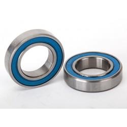 Rodamientos de bolas, sellados con caucho azul (12x21x5 mm) (2)