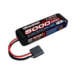 Bateria Traxxas 5000mAh 7.4V 2S 25C Conector ID