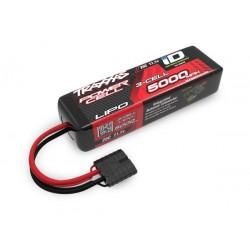 Bateria 5000mAh 11.1V 3S 25C, corta 135mm. Conector ID