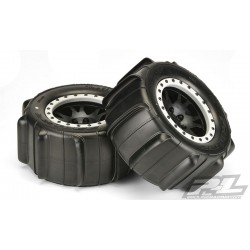 Sling Shot 4.3 Pro-Loc Sand Tires (2) Mounted on Impulse Pro-Loc Black Wheels