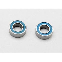 Rodamientos de bolas (4x8x3mm) sellados con caucho azul (8Pcs)