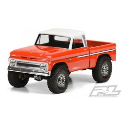 1966 Chevrolet C-10 Clear Body (Cab Only) for SCX10 Trail Honcho