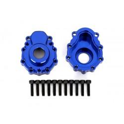 Portal housings, outer, 6061-T6 aluminum (blue-anodized) (2)/ 2.5x10 CS (12)