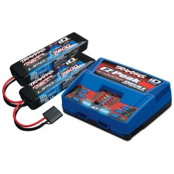 Traxxas 4S (2X 2869X 7.4V LiPO& 1X 2972G duo charger) completer pack