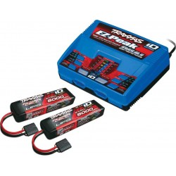 Traxxas 6S COMBO (2X 2872X 11.1V LiPo & 1X 2972G duo charger) completer pack