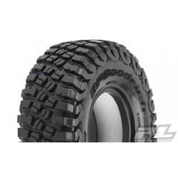 "Neumáticos BFGoodrich Class 1 Mud-Terrain T/A KM3 1.9"" (4.19"" OD) G8 Rock Terrain para Crawler (2pcs)"