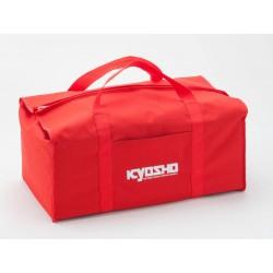 BOLSA DE TRANSPORTE KYOSHO ROJA 320X560X220MM