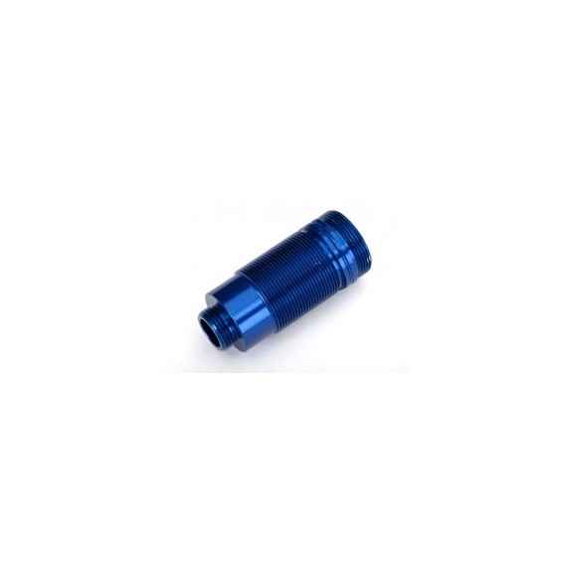 Body, GTR long shock, aluminum (blue-anodized) (PTFE-coated bodies) (1)