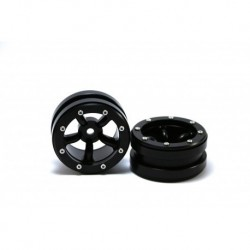 BEADLOCK WHEELS PT-SAFARI BLACK/BLACK 1.9 (4 PCS)