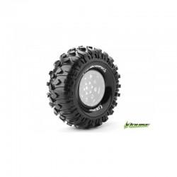 "Louise CR-ROWDY 1/10 Crawler Tires Super Soft Compound 1.9"" (2pcs)"