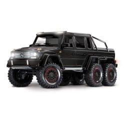 Traxxas TRX-4 Mercedes-Benz G 63 AMG Body 6X6 Electric Trail Truck Black