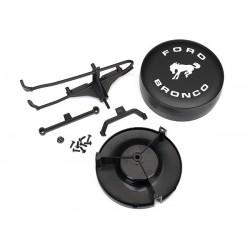 Soporte de montaje neumático de repuesto / / cubierta de neumático de repuesto / hardware de montaje