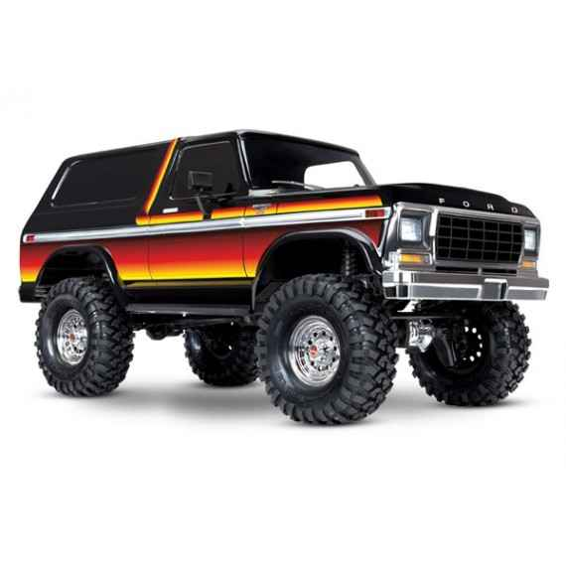 Traxxas TRX4 Ford Bronco Ranger XLT (Color Naranja)