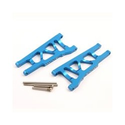 FASTRAX TRAXXAS SLASH/STAMPEDE 4x4 BLUE ALUMINIUM FRONT LOWER ARMS