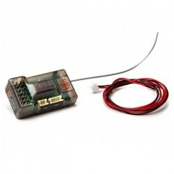 SPEKTRUM SR6100AT AVC de 6 canales con telemetría DSMR de 2,4 GHz