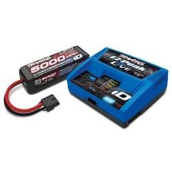 Traxxas Combo 4S (1 batería 4S 5000mah./ 1 Cargador Ez-peak Live)