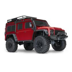 Traxxas TRX4 Land Rover Defender Rojo
