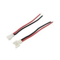 Conectores de batería macho-hembra para Syma X5C X5SC X5SW Hubsan X4 H107 H107C/D H37