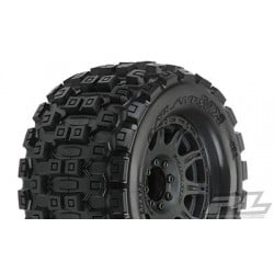 "Badlands MX38 3.8"" (Traxxas Style Bead) All Terrain Tires Mounted (2pcs)"