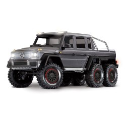 Traxxas TRX-4 Mercedes-Benz G 63 AMG Body 6X6 Electric Trail Truck Black