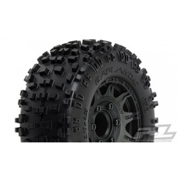 """Badlands MX28 2.8"""" All Terrain Neumáticos Montados (2pcs)"""