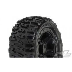 "Trencher 2.2"" M2 (Medium) All Terrain Neumaticos Montados para 1/16 E-Revo/Summit (2pcs)"