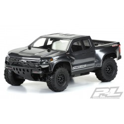 Carroceria 2019 Chevy Silverado Z71 Trail Boss True Scale (Sin Pintar) para Slash 2wd, Slash 4x4 y PRO-Fusion SC 4x4