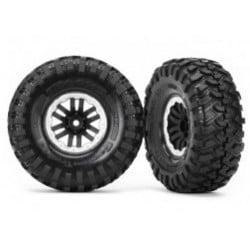 "Neumáticos Completos para TRX-4 Canyon Trail 1.9"" llanta beadlock satin (2pcs)"