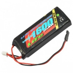 Batería VOLTZ 1600mah 2S 6.6V RX LiFe STRAIGHT BATTERY PACK