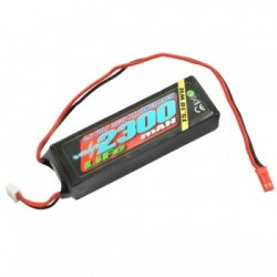 Batería VOLTZ 2300mah 2S 6.6V RX LiFe STRAIGHT BATTERY PACK