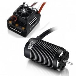 Combo Hobbywing EZRUN MAX6 4985-1650KV Sensorless