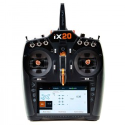 Emisora SPEKTRUM iX20 20 Canais DSMX 2.4GHz