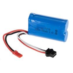 Bateria WLToys LI-ION 6,4V 750MAH JST