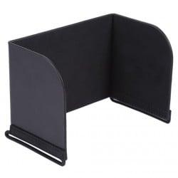 Parasol de monitor para teléfono de 121-128 mm (Negro)