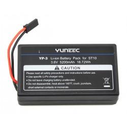 Batería LiOn 5200 mAh 1-Celda / 1S 3.6V para emisora Yuneec ST10+